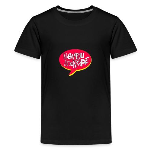 Bulle MFMT rouge et jaune - T-shirt Premium Ado