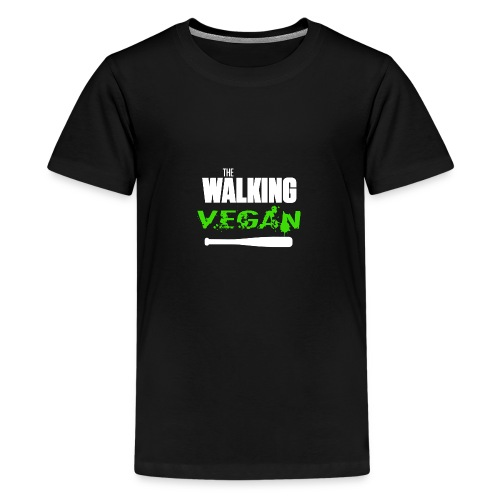 walking vegan 1 - T-shirt Premium Ado