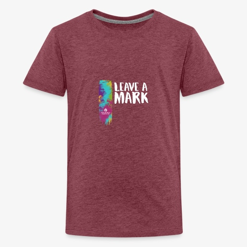 Leave a mark - Teenage Premium T-Shirt