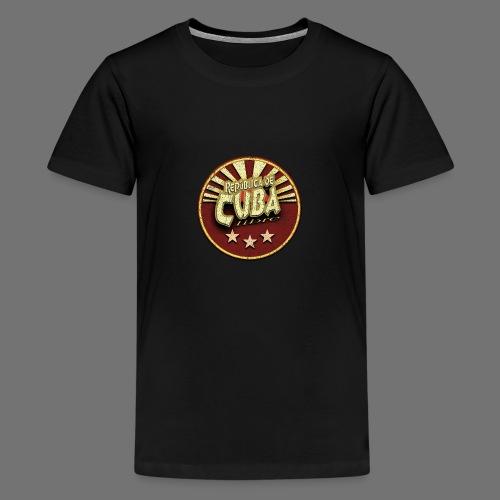 Republica De Cuba Libre (oldstyle) - Teenager Premium T-Shirt