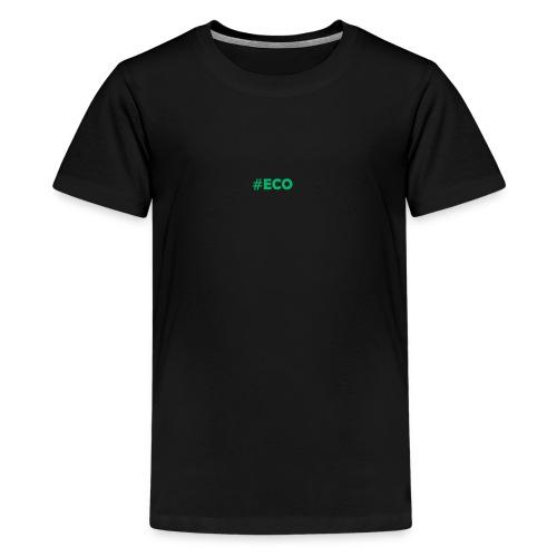 #ECO Blue-Green - Teenager Premium T-Shirt