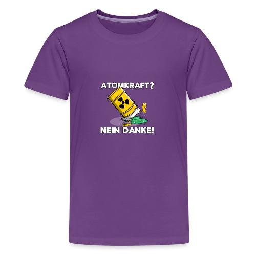Atomkraft - Nein Danke - Teenager Premium T-Shirt