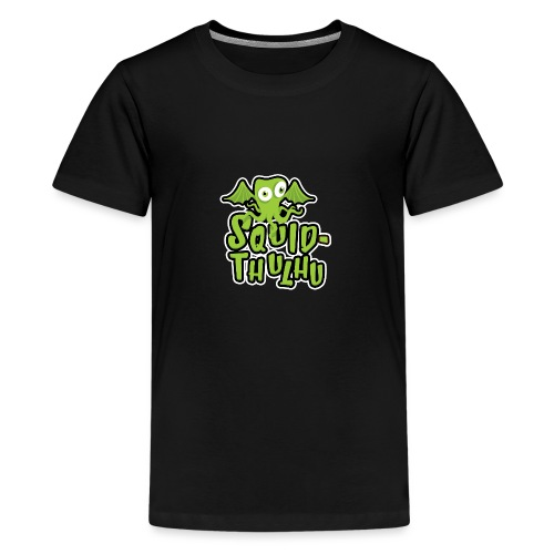 Squid-thulhu - Teenage Premium T-Shirt