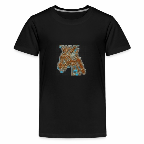 dragon head - Teenage Premium T-Shirt