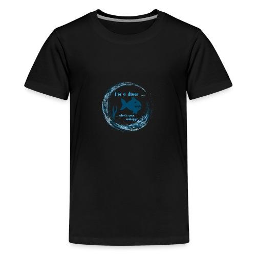 Diver - Teenager Premium T-Shirt