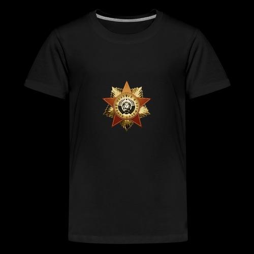 Cosmonaut Medal - Teenage Premium T-Shirt