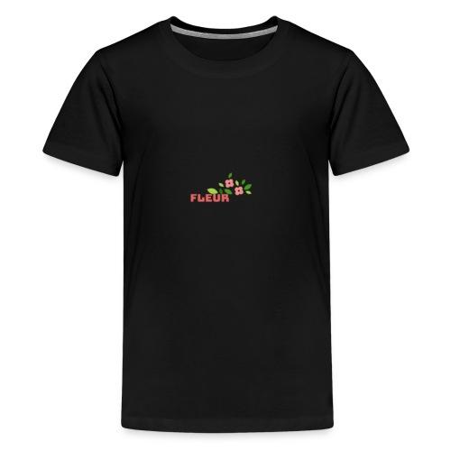 fleur - Teenager premium T-shirt