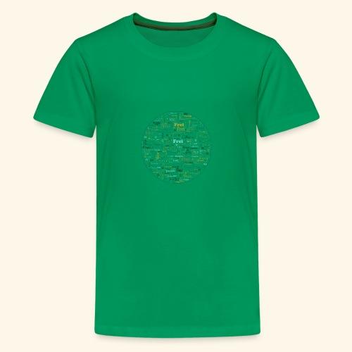 Ich bin - Teenager Premium T-Shirt