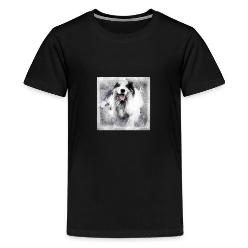 Cody bw - Teenager Premium T-Shirt