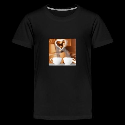 sticallbats coffee for two - Teenage Premium T-Shirt