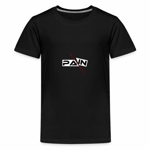 PAIN Design, blutiger Schnitt, Depression, Schmerz - Teenager Premium T-Shirt