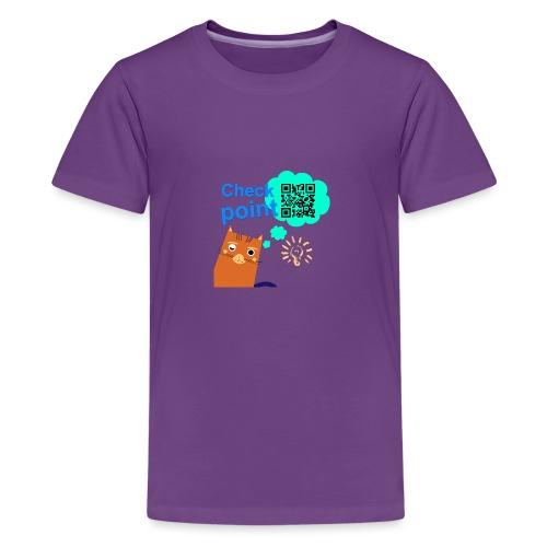 Duna Checkpoint - Premium T-skjorte for tenåringer