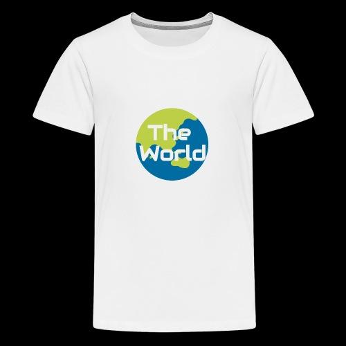 The World Earth - Teenager premium T-shirt