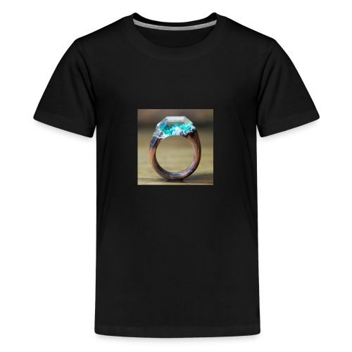 schöner Ring - Teenager Premium T-Shirt