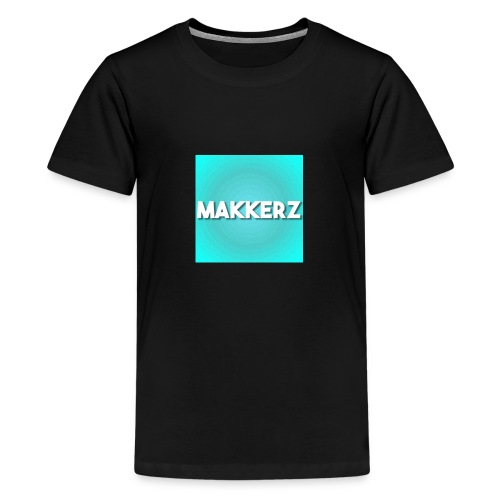 Makkerz Logo 2 - Teenage Premium T-Shirt