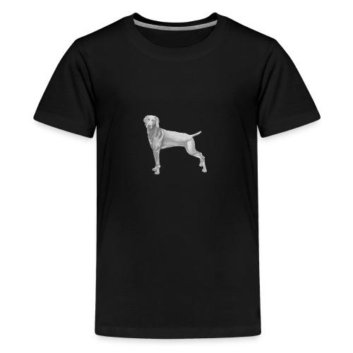 weimaraner - Teenager premium T-shirt