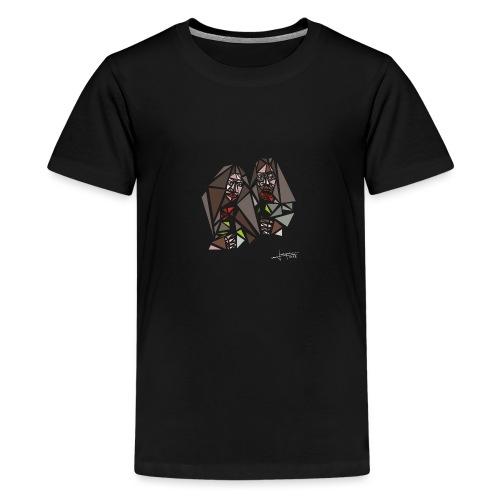 john-yoko.png - Teenage Premium T-Shirt