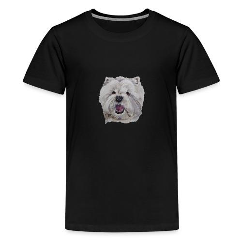 westhighland White terrier - Teenager premium T-shirt
