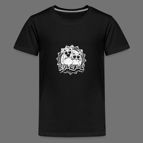 Dream team (1c valkoinen) - Teinien premium t-paita