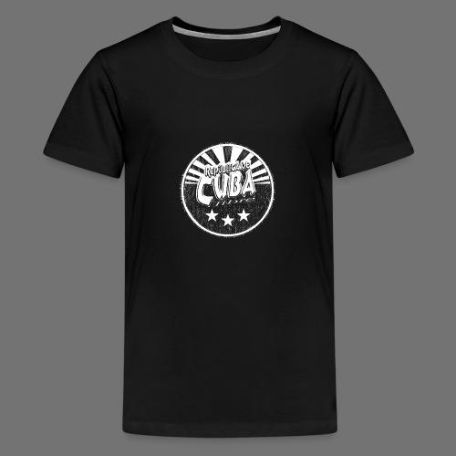 Cuba Libre (1c white) - Teenager Premium T-Shirt
