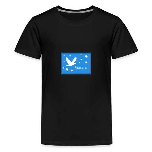 Peace for All - Teenage Premium T-Shirt