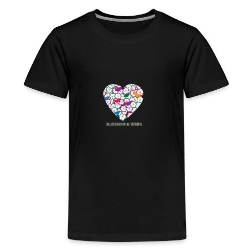 blossom-and-wren - Teenage Premium T-Shirt