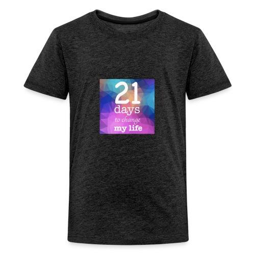 21 days to change my life - Maglietta Premium per ragazzi