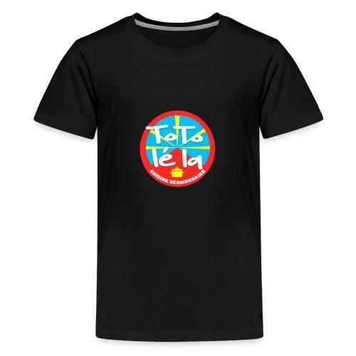 Collection Toto Lé La 974 - T-shirt Premium Ado