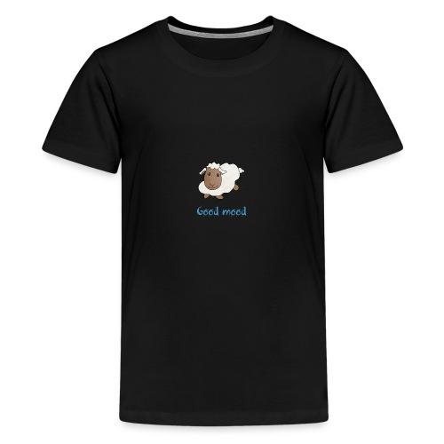 Nadège le petit mouton blanc - T-shirt Premium Ado