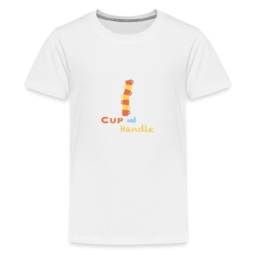 T-Shirt Cup and Handle Traders Stock Market Forex - Maglietta Premium per ragazzi