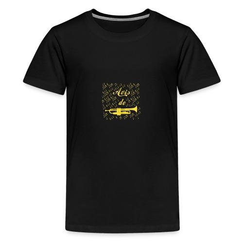 AVIS DE TROMPETTE ! - Jeux de mots -Francois Ville - T-shirt Premium Ado