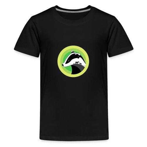 Dorset for Bagder and Bovine Welfare - Teenage Premium T-Shirt