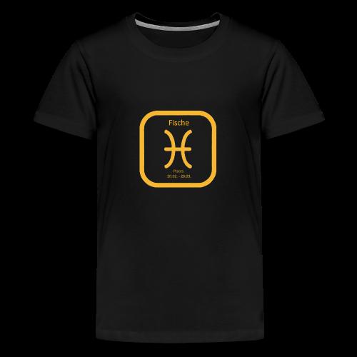 Horoskop fish12 - Koszulka młodzieżowa Premium