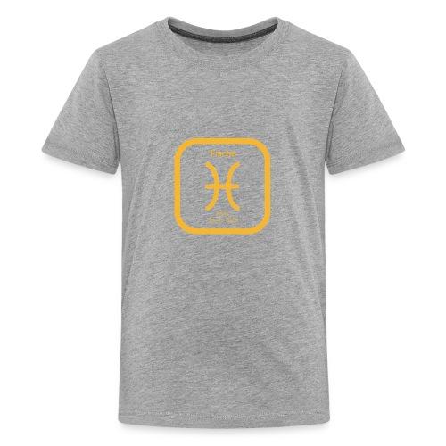 Horoskop Fische12 - Teenager Premium T-Shirt