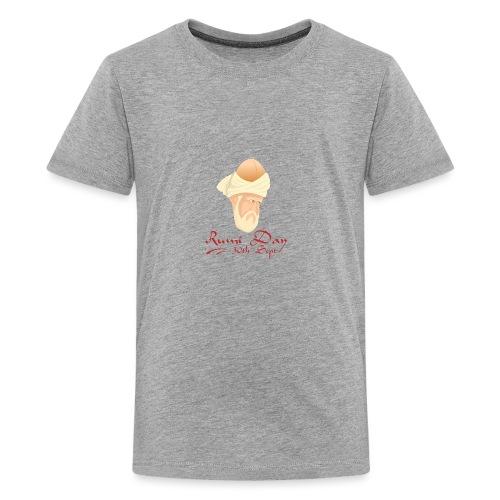 Rumi Day, 30th Sept - Teenage Premium T-Shirt