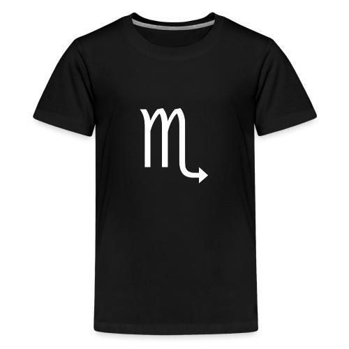 Skorpion Sternzeichen - Teenager Premium T-Shirt
