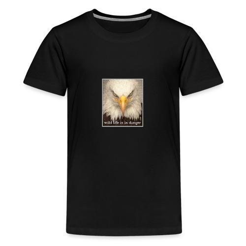 wild life is in danger shirt - Teenager Premium T-Shirt