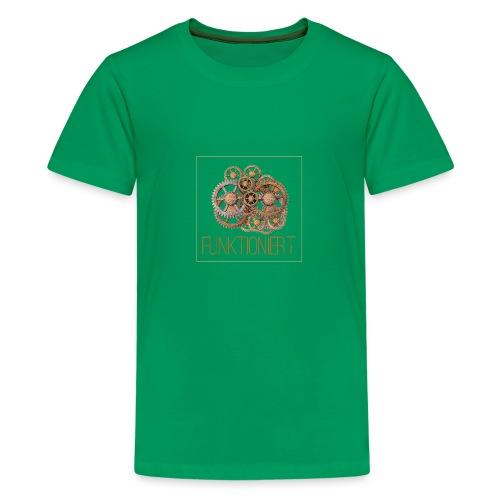 Zahnräder shirt - Teenager Premium T-Shirt