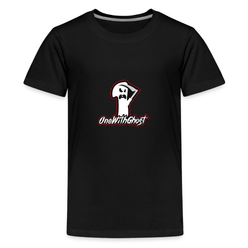 OneWithGhost - Premium-T-shirt tonåring