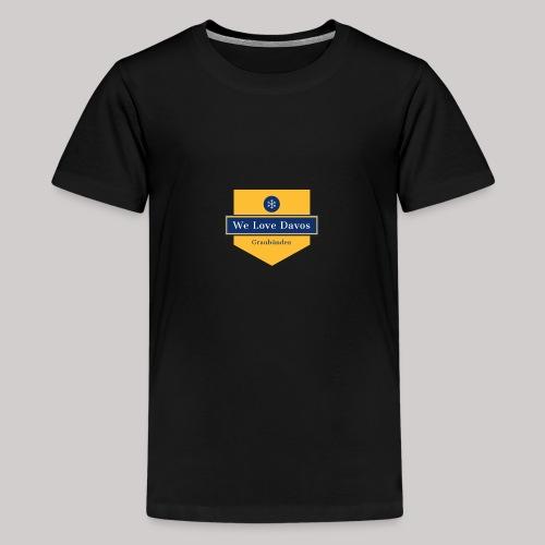 graubünden - Teenager Premium T-Shirt