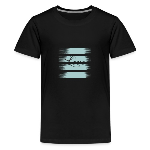 liebe - Teenager Premium T-Shirt