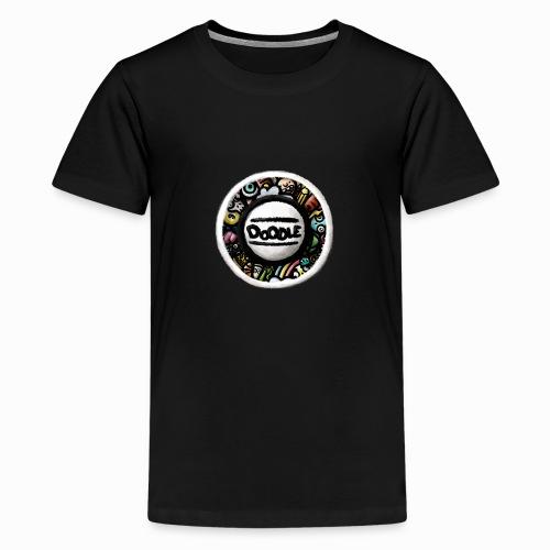 Sticker Doodle Art - T-shirt Premium Ado
