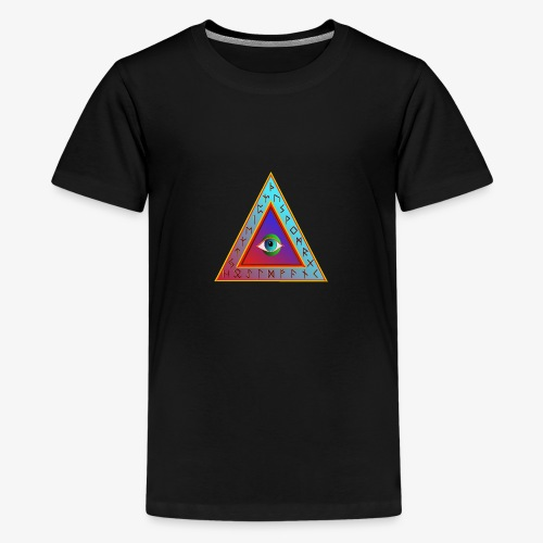 Dreieck - Teenager Premium T-Shirt
