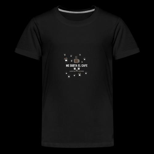 café caliente - Camiseta premium adolescente