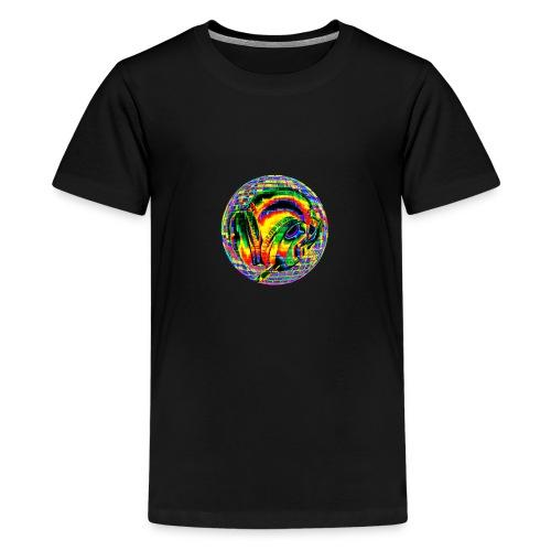 Casque à facettes - T-shirt Premium Ado