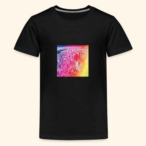 Manhattan arcobaleno - Maglietta Premium per ragazzi