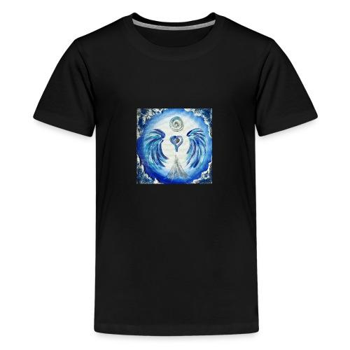 Herzengel der Entscheidung - Teenager Premium T-Shirt