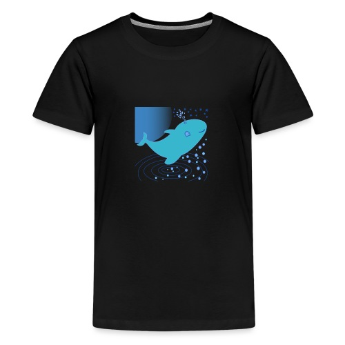 Ballena - Camiseta premium adolescente