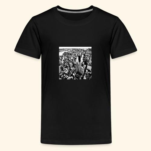 Manhattan in bianco e nero - Maglietta Premium per ragazzi