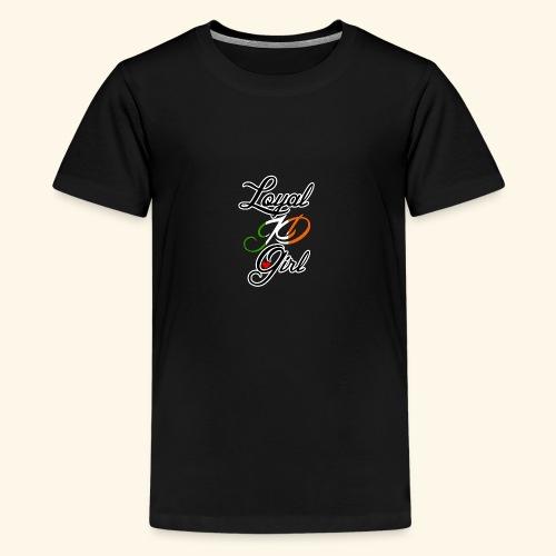 Loyal JD girl - Teenage Premium T-Shirt